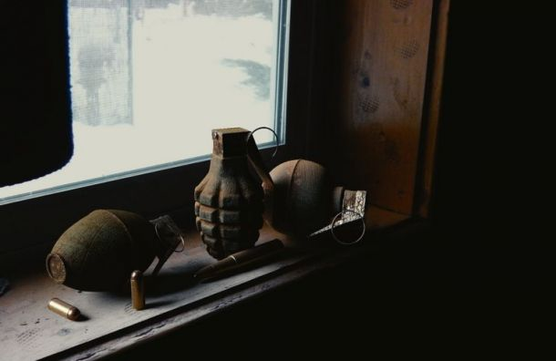 Петербурженка нашла усебя втуалете гранату ипатроны