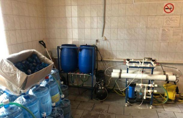 Петербургская фирма производила опасную для жизни воду