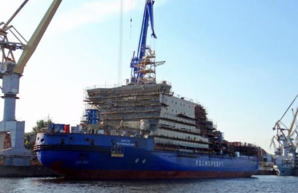 Крупнейший неатомный ледокол «Черномырдин» вышел вморе