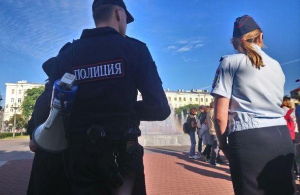 Полицейские устроили погоню заросгвардейцами-взяточниками вПетербурге
