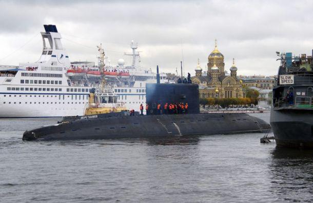Подлодку «Петропавловск-Камчатский» испытывают вморе