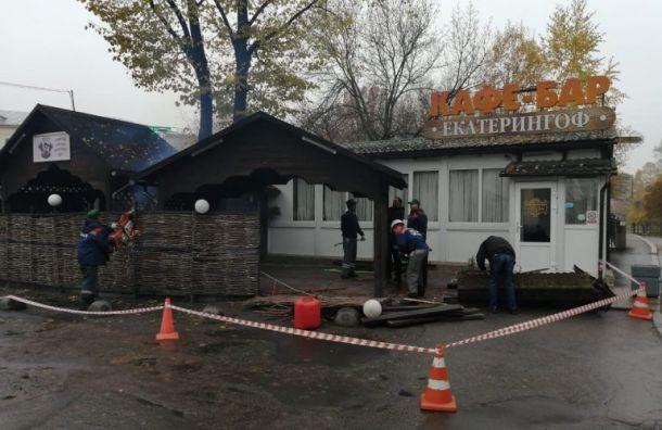 Смольный уничтожил «просроченное» кафе наПерекопской улице