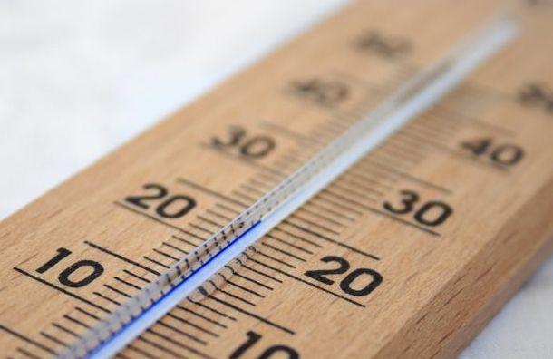 Петербург едва непобил температурный рекорд
