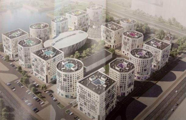 Проект кампуса СПбГУ наВасильевском острове представили петербуржцам