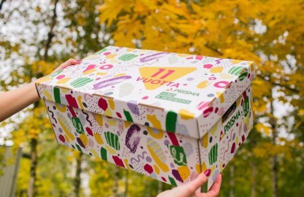 Финская компания подарит материнский набор жительницам Петербурга
