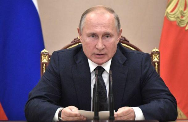Путин поздравил учителей сихпрофессиональным праздником