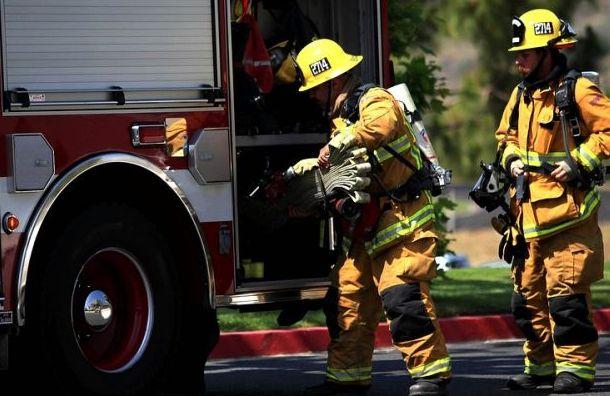 Пожар вдоме наВетеранов тушили ночью 14 пожарных
