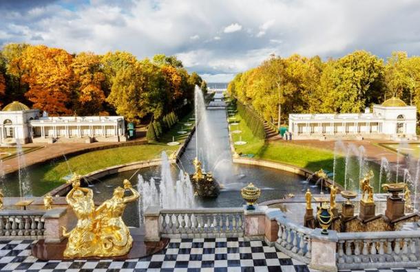 Вход вНижний парк Петергофа с14октября сделают бесплатным