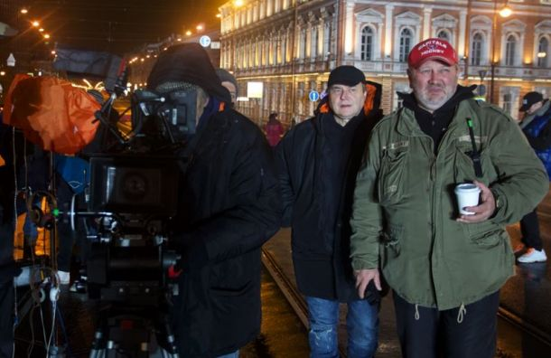 Съемки фильма Алексея Учителя оВикторе Цое завершились вПетербурге