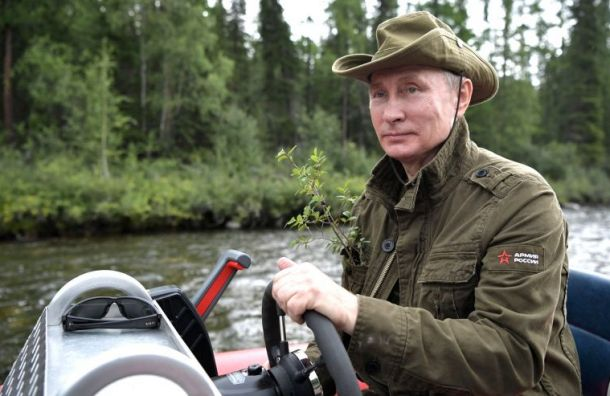 Путин уехал втайгу накануне дня рождения