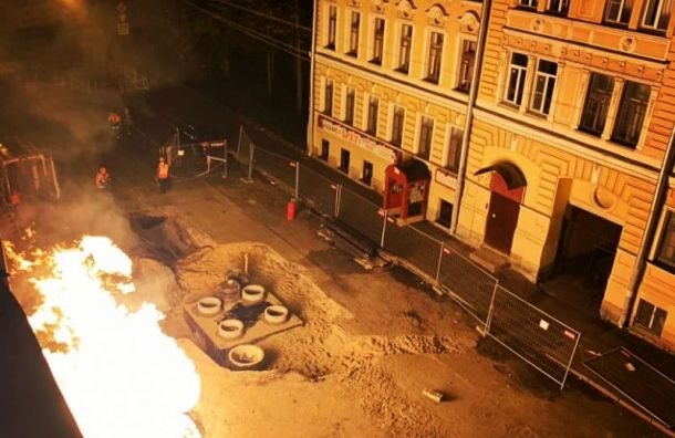 Газовая труба взорвалась наулице Моисеенко