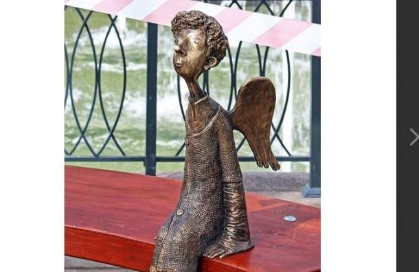 Любашинскому саду вернули ангела