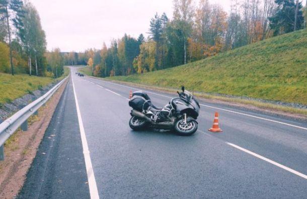 Мотоциклист погиб на«Сортавале» под Всеволожском