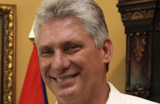 Петербург срабочим визитом посетил президент Кубы