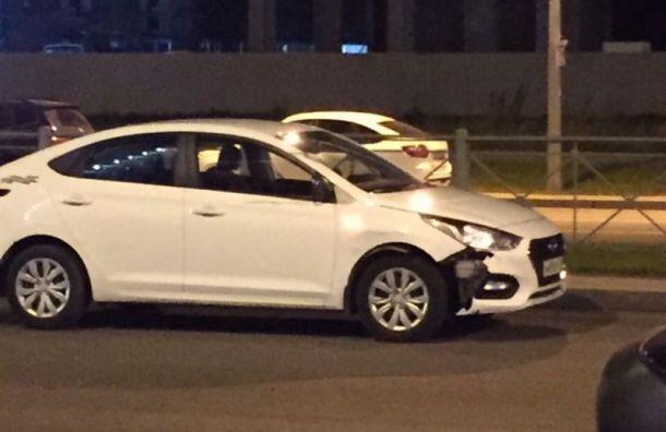 Hyundai сбил подвыпившего мужчину напроспекте Героев