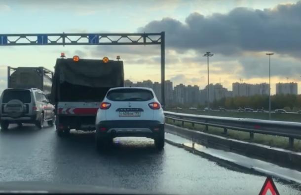 Очередная авария сучастием водителя каршеринга