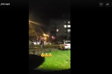 Женщину сожогами эвакуировали изгорящей квартиры наМеталлистов