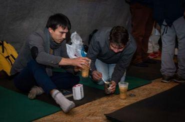 «Ночлежка» откроет первый всезоне пункт обогрева для бездомных