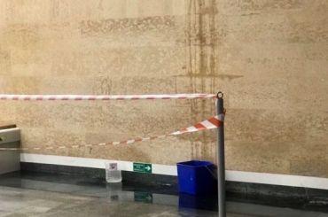 Станция «Дунайская» вновь потекла