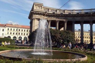 Последний фонтан вПетербурге отключили донаступления весны