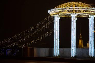 Петербург начнут украшать кНовому году 1ноября