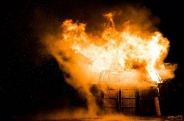 Пожар вПетро-Славянке тушат поповышенному рангу сложности
