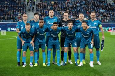 Утвержден состав «Зенита» наигру против «Ростова»