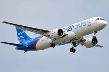 Российский самолет МС-21 сломался вовремя испытательного полета