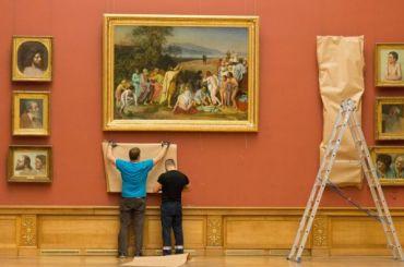 Один изсамых крупных залов Русского музея закроют наремонт до4ноября