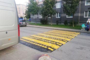 ВПетербурге придумали нового «лежащего полицейского»