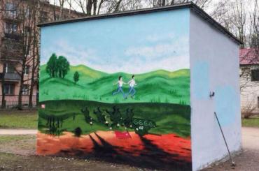 Посвященный Великой Отечественной войне арт-объект закрасили коммунальщики