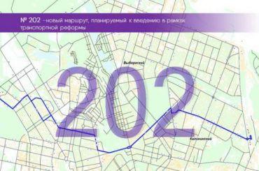 Приморскому району нарисовали маршруты