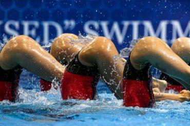 Кадриль наводе— россиянки зажгли всинхронном плавании
