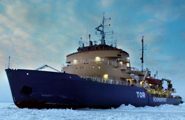 Сигнал бедствия сроссийского ледокола оказался ложным