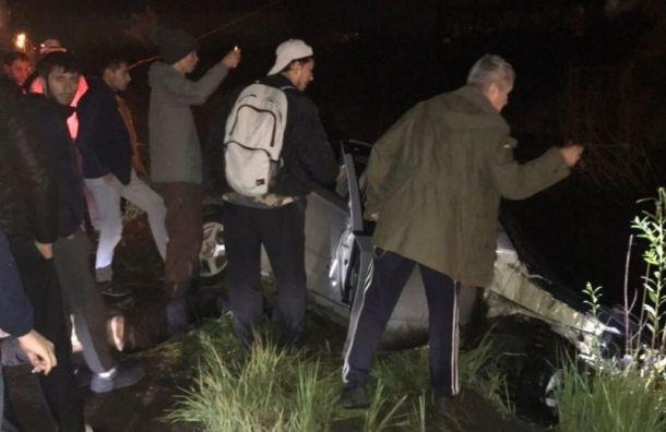 Авария вУсть-Славянке унесла жизнь человека испугнула собаку