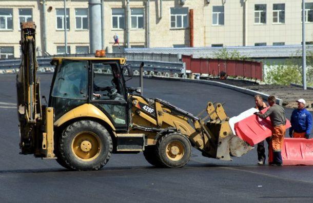 Участок Витебского проспекта вШушарах закроют наремонт