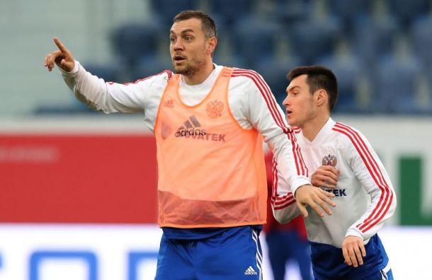 Дзюба пообещал стать лучшим бомбардиром вистории сборной России
