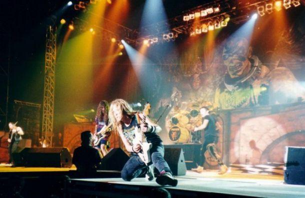 Iron Maiden приедут сконцертом вПетербурге