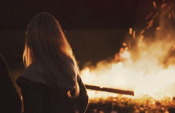 Женщину спасли изпожара воВсеволожском районе