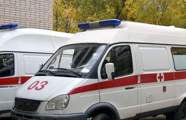 Водитель после инфаркта устроил ДТП на Вырицком шоссе