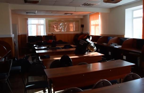 Видео изколледжа вБлаговещенске