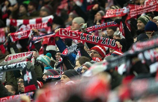 Фанаты «Лейпцига» несмогли попасть наигру Лиги чемпионов вПетербурге