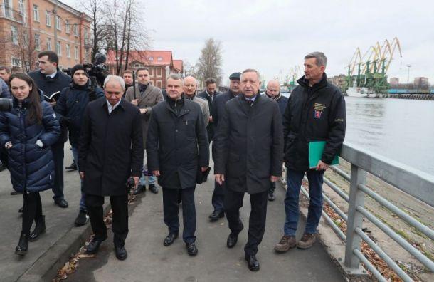Беглов разрешил: Судебный квартал построят наместе сада наНеве