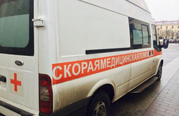 Женщина зарулем Kia вылетела вкювет наПискаревском