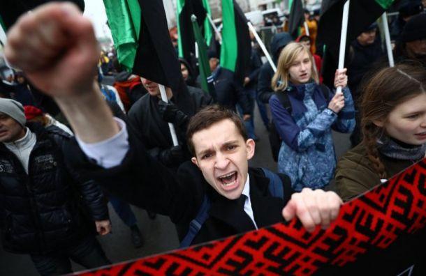 Москва для москвичей: лозунги на«Русском марше» смутили журналистов