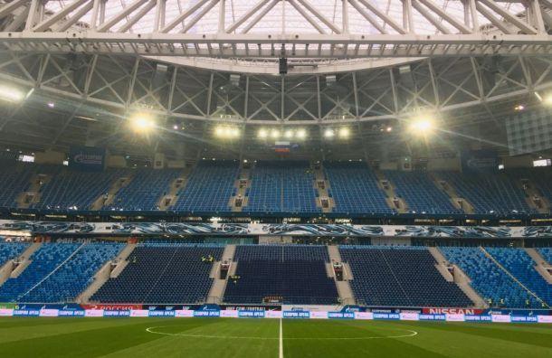 Движение наКрестовском ограничат из-за матча Россия— Бельгия
