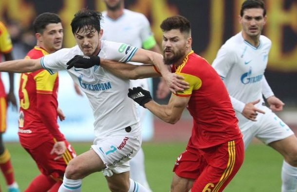 «Зенит» победил «Арсенал» благодаря голу Азмуна
