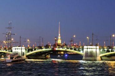 Два моста разведут ночью в Петербурге