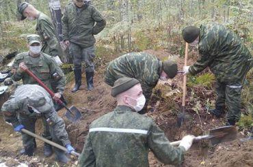 Военнослужащие ЗВО нашли останки более 1,4 тысяч погибших ввойну
