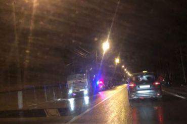 Авария издесяти машин случилась наБелоостровской развязке